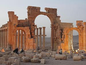Die antike Stadt Palmyra