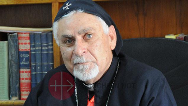 Erzbischof Yoanna Petros Mouche verlangt von den Weltmächten, vom IS bedrohte Orte zu befreien Foto: KIRCHE IN NOT