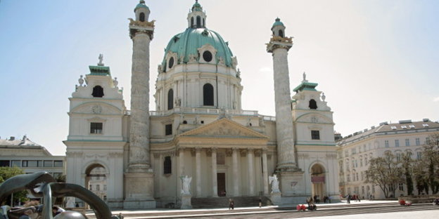 Demokratie und Islam - in der Karlskirche in Wien vereinbar, in der Realität offenbar nicht.  Bild: dpa