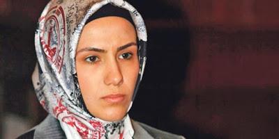 ümmeye Erdogan, die Tochter des türkischen Staatspräsidenten Recep Tayyip Erdogan