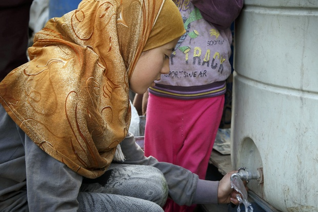 Diese Syrerin ist in den Libanon geflohen. In der Türkei versuchen mittlerweile viele Frauen aus dem Bürgerkriegsland, als Zweitfrau zu etwas Wohlstand zu gelangen. © Ute Grabowsky/DPA
