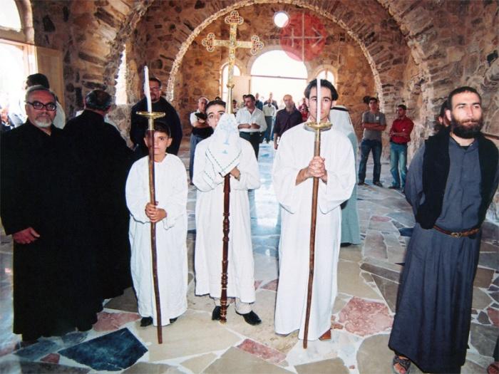 "Im Kloster ""Mar Elian""."