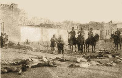 Gedenken an das Massaker von Simele